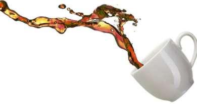 Чистене след разливане на кафе
